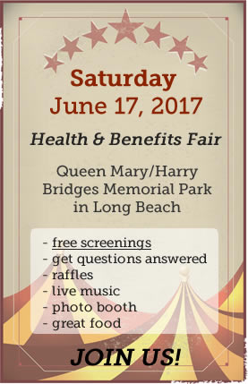 click to learn more about the health fair